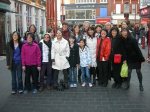 London Chinatown Adoptees Meeting March 2011
