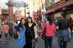 Reunion London Oct 2011 - Jess & Kate B. China Town Gate