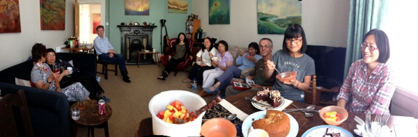 HK adoptees at our hse panoramic