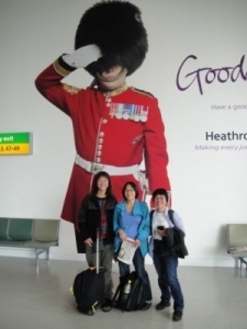 Debbie, Sue and Serena Leaving the UK